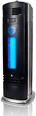 OION Technologies B-1000 Permanent Filter Ionic Air Purifier Pro Ionizer with UV-C Sanitizer, New (Black)