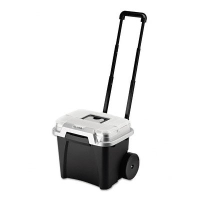 Rubbermaid 15076 Portable File Wheeled Premium Telescopic Handle 15.8w x15.  sc 1 st  Amazon.com & Amazon.com : Rubbermaid 15076 Portable File Wheeled Premium ...