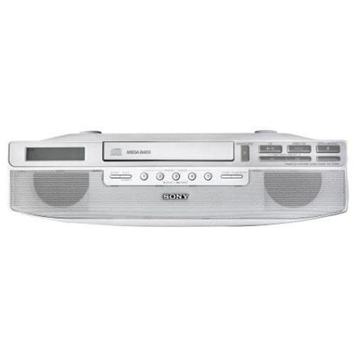 Image of Sony ICF-CD523 Under-Cabinet CD Clock Radio (Discontinued by Manufacturer) Clock Radios