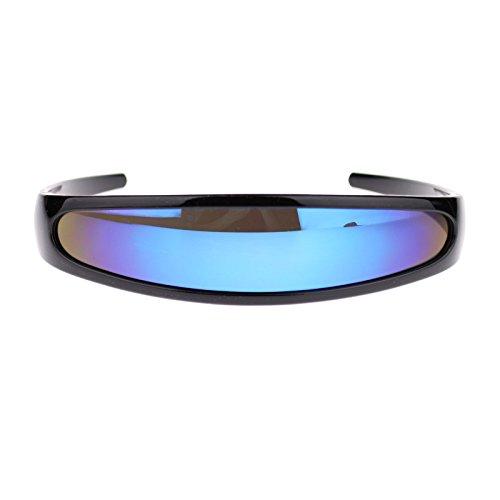 d9d63bc008a Jual Mirror Lens Monolens Cyclops Robotic Futuristic Sunglasses ...