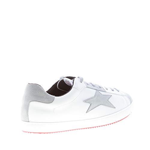 Sneaker Bassa Uomo Pelle In Wqt4otv Camoscio Ishikawa Grigio Bianco Più w5ERInnqP0