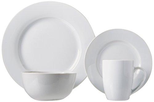 AmazonBasics 16-Piece Dinnerware Set, Service for 4 by AmazonBasics (Image #4)