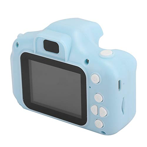 AMONIDA Kids Camera Cartoon Children Kid Mini Photography Camera Digital Video Simple Operation for Kids Birthday Gifts (Blue)