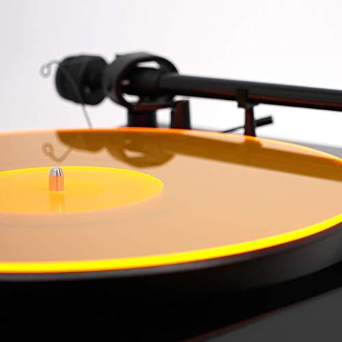 Acrylic Turntable Mat | OrangeLit | LP Slipmat (Slip Mat Record)