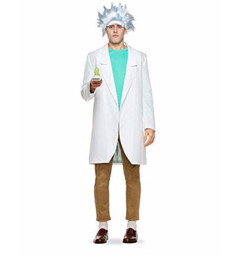 4aff64d9ed28e8 Rick and Morty Adult Rick Sanchez Costume - Rick   Morty Merchandise 24