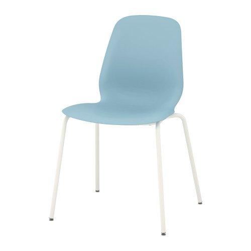 Amazon.com: Silla de IKEA, azul claro, broringe Blanco ...