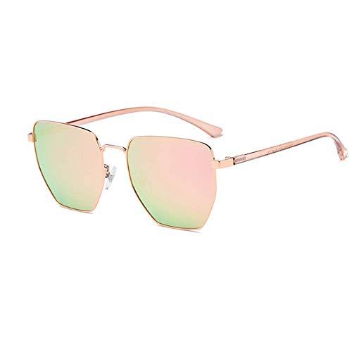 Protective Gafas protección Ladies poligonales de Sol 100 Sumferkyh Unisex Style Negro Oro para de Color UV Hombre Polarizado 0dwYqOxO