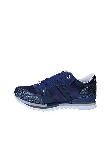 suede Col Tessuto Scarpe Blu Apepazza Domitille Mod E Glitter Donna Sneaker Ds18ap02 wxYqddpX
