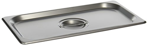 Stainless Food Pan Cover - Winco SPSCT 1/3 Size Solid Cover