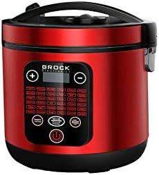 Brock Electronics MC-3602-RD Robot de Cocina Multifunción, 700 W, 5 litros, 5 Decibeles, Acero Inoxidable, Rojo: Amazon.es: Hogar