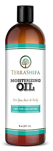 Pure Moisturizing Oil with Coconut, Olive, Almond & Lavender Oil | 100% Natural Daily Face, Hair and Body Oil | Perfect for All Skin Types, Men and Women, 8 - Body Type Oil