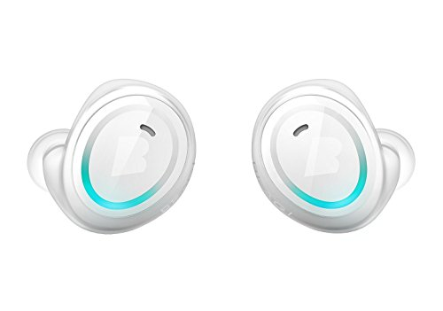 Bragi - The Dash Truly Wireless Smart Earphones - White (Sparkly Microphone)