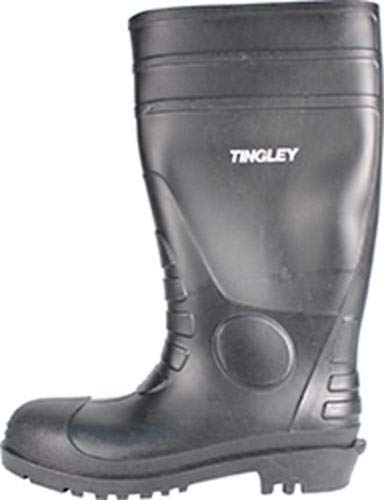 TINGLEY 31151 Economy SZ10 Kneed Boot for Agriculture, 15-Inch, Black