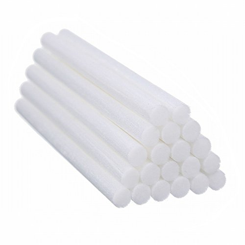 Price comparison product image AOLODA Humidifier Filters Sticks, 4.5'' Cotton Sticks Wicks Replacements for Mini Cactus Humidifiers (20 PCS)