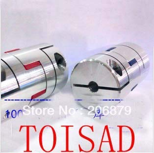 Fevas 12mm to 12mm Spider Shaft Coupling 1212mm Jaw Flexible Coupling Plum Coupler Diameter 40mm Length 65mm