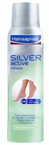 Hansaplast Silver Active Fussspray, 150 ml
