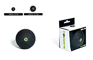 BLACKROLL Ball 08 - Massage Ball, Intense Punctual Massage to Release Adhesions, Self Massage of Fascia and Trigger Points, Pain Relief