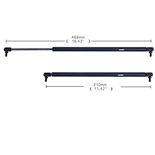Dampers Shock Absorber (VioletLisa 2pcs Rear Liftgate Left+Right Door Lift Supports Strut Shocks Springs Arms Damper Pro For 2003-2014 Volvo XC90)