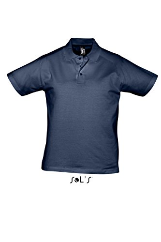 SOL´S Men Polo Shirt Prescott, Größe:S, Farbe:French Navy