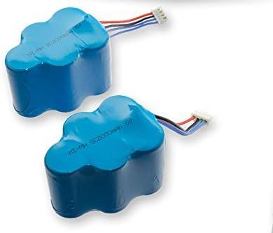 vhbw 2 x baterías NiMH 2000mAh (6V) para robot aspidador doméstico ...