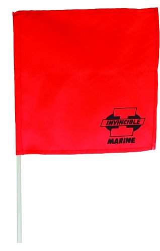 Invincible Marine Orange Water Ski (Water Ski Flag)