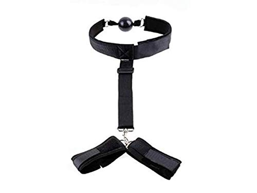 Lsinyan Selling Women Mouth Ball Neck Posture Control Collar for Couples Play