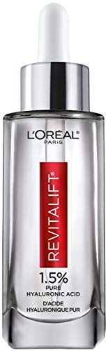 L'Oreal Paris Skincare Revitalift Derm Intensives 1.5% Pure Hyaluronic Acid Face Serum, Hyaluronic Acid Serum for Skin…
