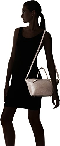 Small Gravel Jerry Halston Top Dark Bag Satchel Heritage Handle wUnTfq