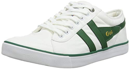 (Gola Men's Comet White/Dark Green 11 D US)