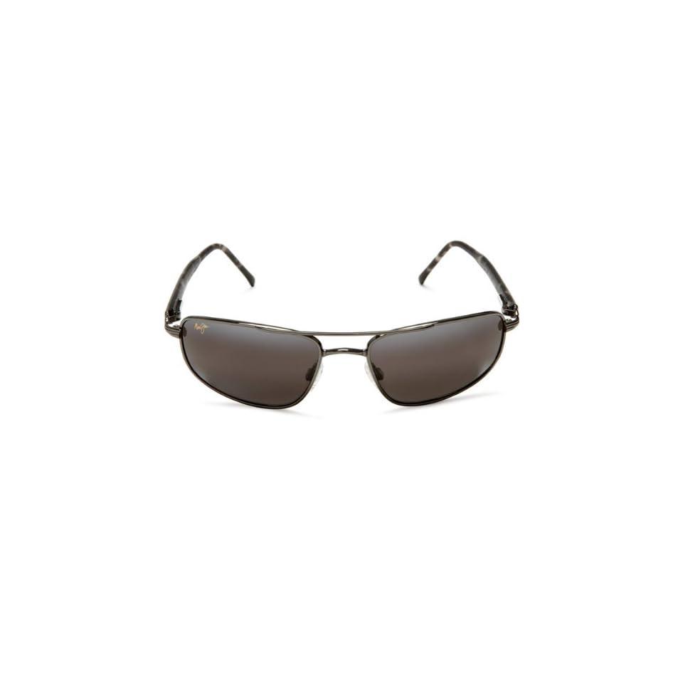 Maui Jim KAHUNA 162 02 sunglasses Gunmetal / Neutral Grey