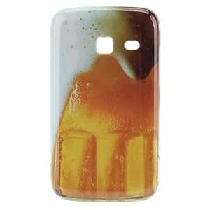hao Beer Pattern Hard Case for Samsung Galaxy Y Duos S6102