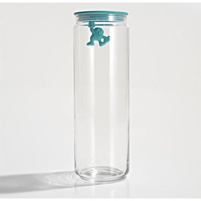 A di Alessi - Dream Factory Gianni Storage Jar with Lid by Mattia Di Rosa Size: Extra Large, Color: ()