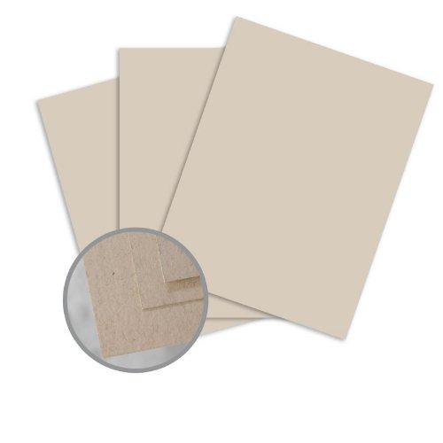 Via Vellum Kraft Card Stock - 8 1/2 x 11 in 80 lb Cover Vellum 30% Recycled 250 per - Via Vellum Mohawk