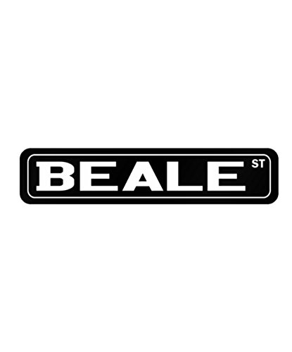 Idakoos - Beale Street - Male Names - Street Sign
