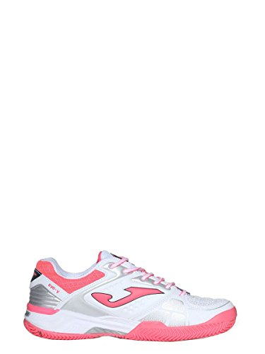Chaussures Argile Bianco Clay 702 Shoes T Lady Dame White Joma Joma T 702 Allumette Match Blanche Rosa Rosa Bianco ZPwnqvCS