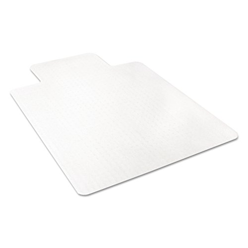 deflecto CM11112 36 x 48 w/Lip Clear EconoMat Occasional Use Chair Mat for Low Pile by Deflect-O (Image #5)