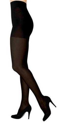 SIGVARIS Women's SOFT OPAQUE 840 Open Toe Compression Pantyhose 20-30mmHg by SIGVARIS