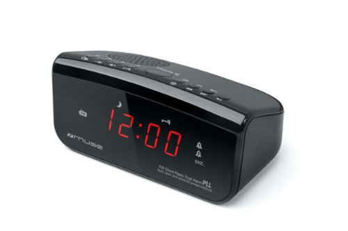 Muse M-12CR - Radio Despertador PLL FM