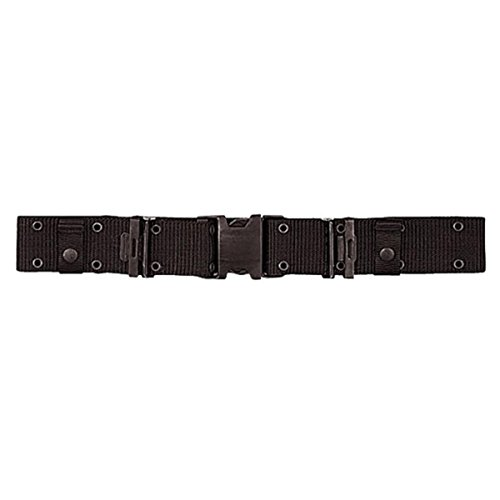 Rothco New Issue Quick Rls Pistol Belt, Black, X-Large
