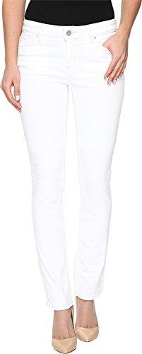 White Straight Leg Jeans (Calvin Klein Jeans Women's Straight Leg Jean, White Wash, 31 32L)