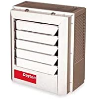 Dayton 5.6/7.5kW Electric Unit Heater, 1 or 3-Phase, 208/240V, 2YU66
