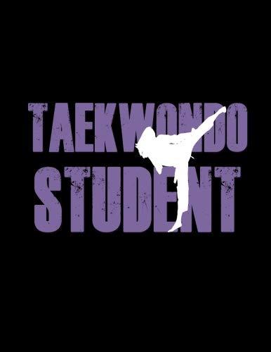 (Taekwondo Student: Taekwondo Martial Arts Purple 2019 Calendar Weekly Planner To Do List Organizer Book 8.5