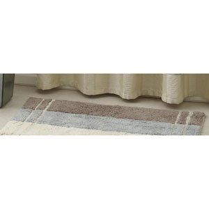 Amazon.com: Croscill Fairfax Barron Taupe Bath Rug Taupe