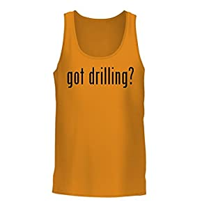 got drilling? - A Nice Men's Tank Top, Gold, Large