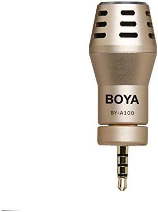 Boya By A100 External Microphone For Iphone Ipad Black Amazon Co Uk Camera Photo