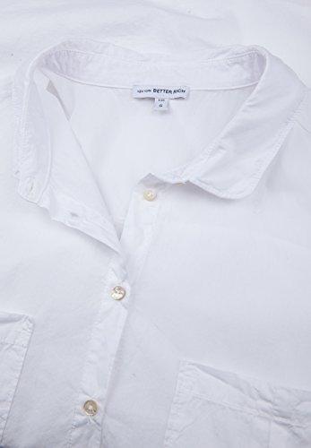 Mujer Better Rich Blanco Manga Básico Larga Camisas Para wB7Cpq