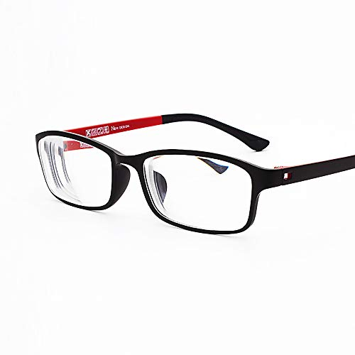 Rongchy Myopia Glasses Mens Womens Stylish TR90 Frame Shortsighted Eyeglasses -0.50 to -6.00 ***Please Kindly Note These are not Reading Glasses***