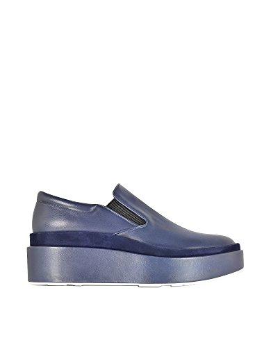 jil-sander-womens-js2513000084-blue-leather-slip-on-sneakers