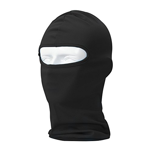 Your Choice Balaclava Thin UV Protective Sports Ski Face Mask (Black) (Diamond Tactical Full Face Protection Ghost Balaclava Mask)