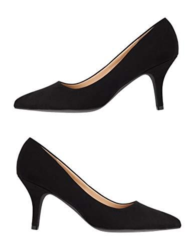 maurices Women's Natalie Closed Toe Heel 5 1/2 Black ()